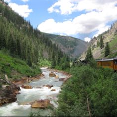 Durango Silverton Train-that is a great ride