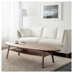 IKEA - STOCKHOLM, Coffee table, walnut veneer, The table surface in walnut veneer and legs in solid walnut give a warm, natural feeling to your room. The distinctive grain pattern in the walnut veneer gives each table a unique character. Ikea Stockholm, Stockholm Sweden, Ikea Coffee Table, Table Ikea, Walnut Coffee Table, Living Room Coffee Tables, Coffee Table For Small Living Room, Narrow Coffee Table, Coffee Room