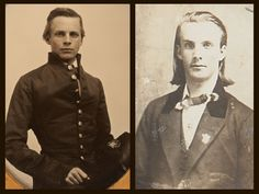 John Pelham, left, and his younger brother Peter, when Peter was 20 years old. Courtesy of Heritage Auctions.