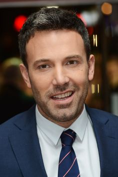 Ben Affleck at his Argo premiere in London