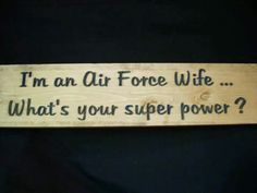 #MyAirman #MilitaryWife