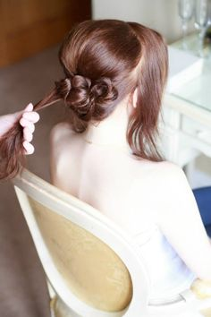Inner Beauty Weddings Vintage Bride Hair & Make Up Bridal Hair Bridal Make Up
