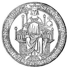 Zegel Magnus I van Zweden.