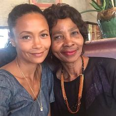 Thandie Newton & Her Mother