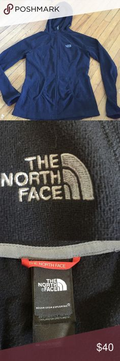 The North Face zip up Zip up hoodie . Super comfortable. Like new The North Face Tops Sweatshirts & Hoodies