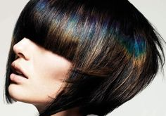 Hot New Hair Trend! Oil Slick Coloring