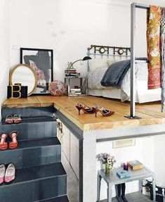Fantastic loft bedroom with my name on it!