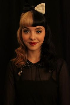Melanie Martinez. #TheVoice , love her hair, shes got style and she makes EVERY song her own! I mean... she is great!!