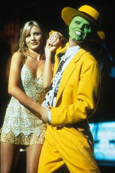 The Mask Cameron Diaz & Jim Carrey Movie Couples Costumes, Celebrity Couple Costumes, Duo Costumes, Couple Halloween Costumes, Halloween 2019, Celebrity Couples, Medusa Halloween, Halloween Inspo, Costume Ideas