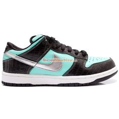 Wholesale Nike SB Dunk Low Pro Tiffany Black Blue Shoes - $109.99