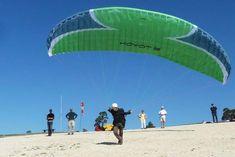 Le Chalvet paragliding take off in Saint-André-les-Alpes