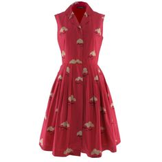 Jessica cloud print dress by Emily and Fin at Aspire Style