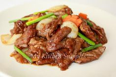My Kitchen Snippets: Mongolian Beef