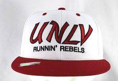 9567d61ecbd Vintage UNLV Running Rebels Red White Baseball Cap NCAA Snapback  Eclipse   BaseballCap