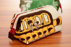 My Neighbour Totoro Accessories / Cosmetic / Makeup / Travel Pouch (Neko Bus / Cat Bus Version)