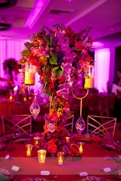 omni party florals indian party Bollywood + Hollywood Party The Omni La Costa Resort and Spa  jennifer cole florals
