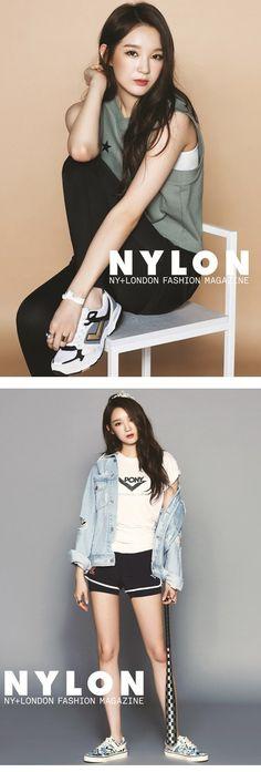 'Nylon' Magazine Features Kang Min Kyung as a Tomboy Princess   Koogle TV