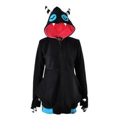 monster hoodies are the best!