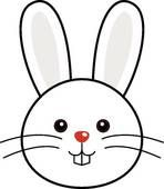 Easter Bunny Face Clipart | Easter Day | Pinterest ...