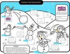 Winter wonderland Boxtop Collection Sheet (Colors)