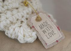 fabric tag -- love it!