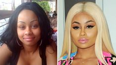 Blac Chyna Plastic Surgery Before And After Photos - The Complete Story :http://celeblens.com/blac-chyna-plastic-surgery/