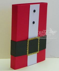 Today is Day #3 of my 12 Days of Christmas Treat Holders. Stampin' Up! supplies by Debbie Henderson, Debbie's Designs.