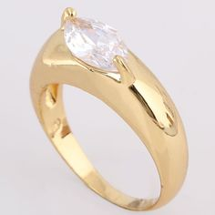 $1.4    Stylish Simple Design 18K Gold Plated Copper Ring Inlay Oval Shape White Zircon Two Sizes http://www.eozy.com/stylish-simple-design-18k-gold-plated-copper-ring-inlay-oval-shape-white-zircon-two-sizes.html