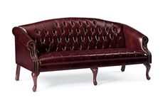 Traditional Sofa with Tufted Upholstery and Nail Head Trim Waiting Room Furniture, Office Waiting Rooms, Traditional Sofa, Nail Head, Nailhead Trim, Sofa Chair, Sofas, Love Seat, Upholstery