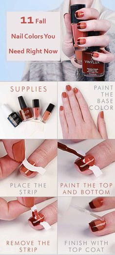 here are 11 Fall Nail Colors You Need Right Now. This list of nail colors is made for you to accentuate the beauty in this season.
