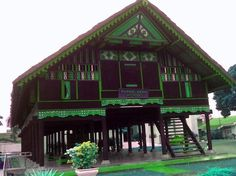 Aceh traditional house