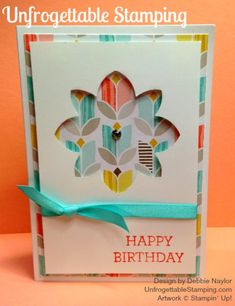 "Unfrogettable Stamping | Quick & Easy Crazy About You birthday card featuring the Sale-a-Bration ""Best Year Ever"" DSP by Stampin' Up!"