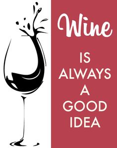 Kitchen Print Home Decor Typography Wine is by NestedExpressions, $15.00