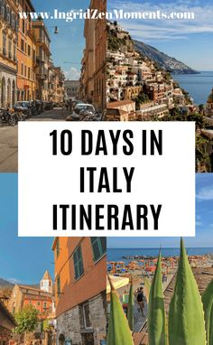 Planning a trip to Italy? Check out these 2 options for some of the best 10 days in Italy itinerary. All the Italy tips you know for traveling to Rome, Tuscany, the Amalfi Coast, and much more. Information on how to #skiptheline at places like the Vatican, Florence Duomo, and Pompeii. When to visit, where to stay, what to do, and much more. Choose to see Southern Italy or Northern Italy, but travel slow on your Italy trip, and see some of the most beautiful Italy destinations. #italy #travel Italy Travel Tips, Rome Travel, Budget Travel, 10 Days In Italy, Cities In Italy, Cool Places To Visit, Places To Travel, Italy Destinations, Italy History