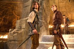 Seriously - the smocking details on Caspian's shirt are amazing!  The guys costumes in general are great. :D #narnia