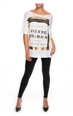 Topp FP6369S WHITE - Pierre Balmain - Designers - Raglady