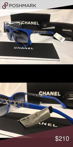 e5b780dd CHANEL Sunglasses brand new Blue Silver Brand new CHANEL Sunglasses.  Include everything in photo. CHANEL Accessories Sunglasses