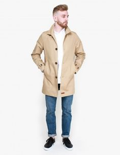 Car Coat by Knowledge Cotton Apparel