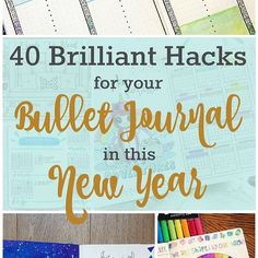 2018 is just around the corner. Are you ready? I've put together a huge resource of bullet journal hacks and inspiration to help you get your new (or old) bullet journal set up for the new year (link in bio). . . . There are book trackers, future logs, word of the day pages, perpetual calendars, hello 2018 pages and more! . . . At the bottom of the post there is a link up so you all can join in the fun and link your own favorite 2018 pages. Comment here to let me know if you added your own…
