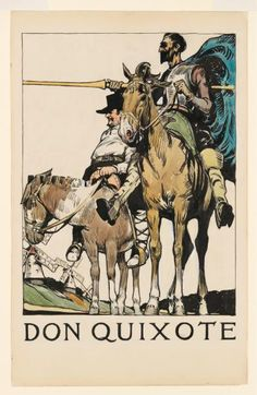 """Edward Hopper  Don Quixote, 1906-1907. Watercolor, pen, brush and ink, and graphite pencil on paper,  Whitney Museum of American Art, Josephine N. Hopper Bequest<br/>Hopper's parents had hoped that he would pursue a career in commercial illustration, a profession which he hugely disdained. """"Edward just didn't have the personality to produce happily what someone asked him to do on commission,"""" Gail Levin said during a Rockwell lecture."""