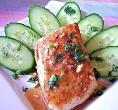 """""""Halibut is a very mild fish, and it's perfect with this dressing and herbs."""" —PanNan"""