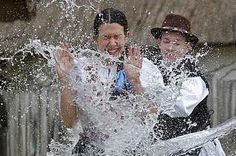 It's Easter, Which In Hungary Means It's Time To Throw Water At Women