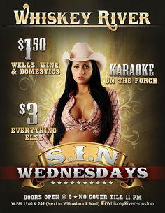 SIN Wednesdays - 9pm to 2am
