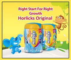 WoW Junior #Horlicks Stage 2 Original Flavour for Your Kids 500gm pack @ 275.00 From #NeedsTheSupermarket  Online #Grocery Shopping Store in #delhi NCR