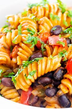This Black bean pasta recipe is simple, flavorful and cooks up in just minutes. This tasty recipe offers a healthy option that your family will beg for over and over again. And since it cooks in less than 10 minutes in one pot, you can eat this any night of the week! Plus it's versatile and offers you a way to make an Italian style bean pasta or a Southwestern version so you'll never get tired of making it. Superfood Recipes, Vegan Recipes, Meatless Recipes, Black Bean Pasta, Tasty Recipe, Popular Recipes, Italian Style, How To Cook Pasta, Black Beans