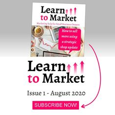 Learn to Market issue 1 is coming soon! 👉 LINK IN BIO!  I'm going to give you lots of tips and tricks on how to update your online store inventory in a way that gets your customers excited and buying.  So if you need help getting your products noticed online, THIS is where you need to start 💪  🎉 Subscriptions are OPEN!  --- #learntomarket #magazine #marketingmagazine #marketingmanager #marketing #contentmarketing Small Business Marketing, Content Marketing, Online Marketing, Digital Marketing, Marketing Magazine, Small Business Resources, Craft Business, Sell On Etsy, Improve Yourself