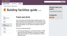 Department of Culture, Media and Sport Guide Book, Catering, Layouts, Food And Drink, New Homes, Culture, Sport, Books, Ideas