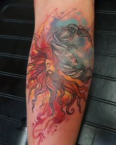 Sun and moon...#tattooersubmission #tattooedwomen #sexytats #flowers #art…