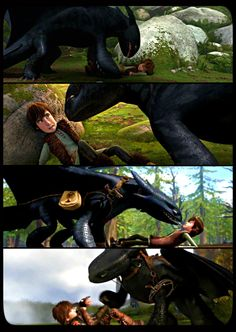 Hiccup and Toothless :). Some things just don't change <3 and we wouldn't want them to