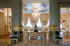 The Grand Ducal Palace, hall ~ Luxembourg